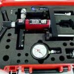 Concrete scanning and testing kit